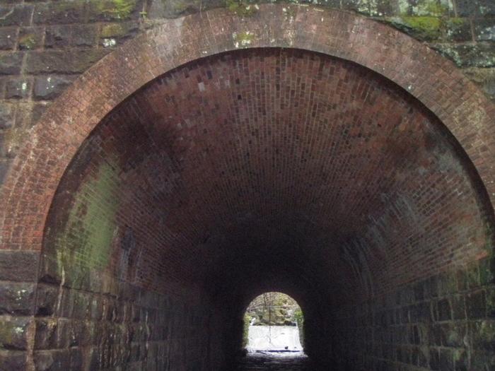 明治42年のレンガトンネル