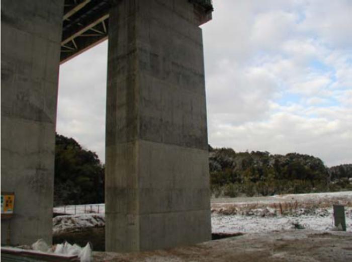 九州自動車道 綿打川橋耐震補強工事