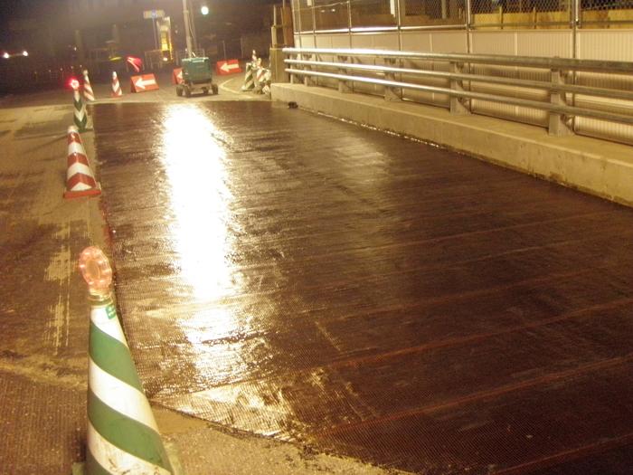 西ノ崎跨線橋補強工事