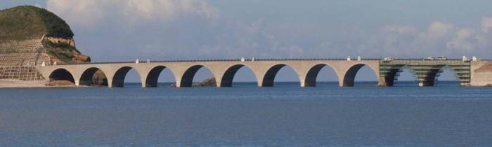 鹿の子大橋全景写真