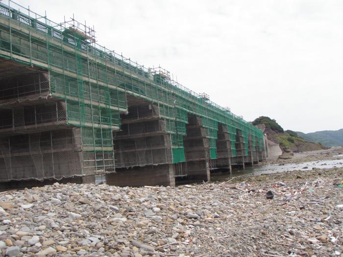 第5号県単橋梁整備工事3工区(鹿の子大橋)