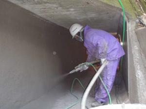 既設暗渠補修工